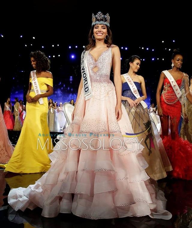 Những hình ảnh đáng nhớ trong đêm chung kết Hoa hậu Thế giới 2016 - 28