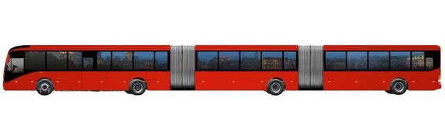 Volvo chuẩn bị ra mắt xe buýt lớn nhất thế giới - 1