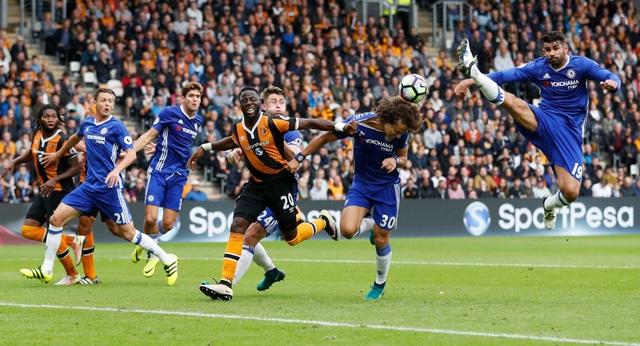 Chelsea tấn công không ấn tượng trong hiệp đấu đầu tiên, thậm chí họ không một lần sút trúng cầu môn đối phương