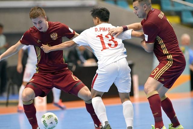 Đội tuyển Việt Nam dừng bước tại vòng 1/8 World Cup futsal 2016