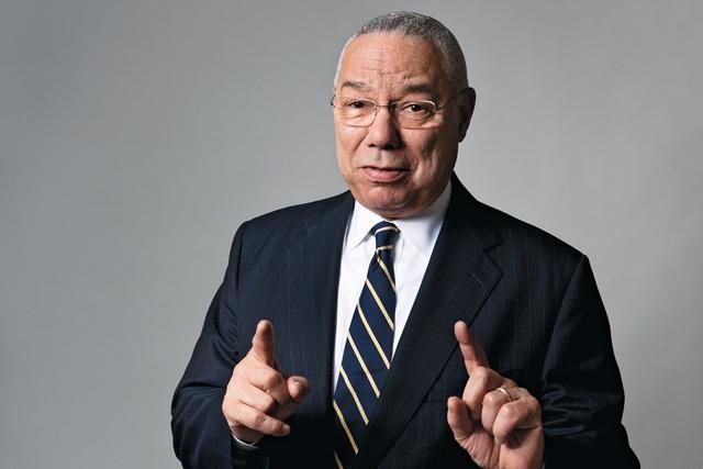 Cựu Ngoại trưởng Mỹ Colin Powell (Ảnh: Newsweek)