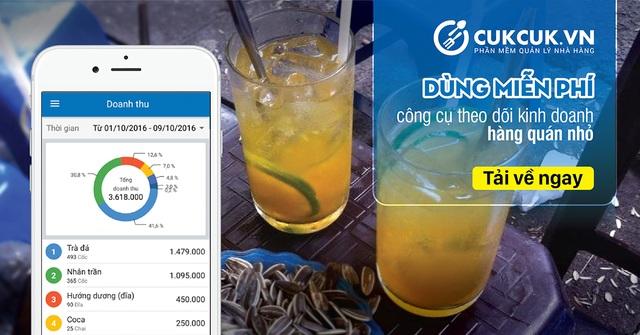Quản lý hàng quán ăn uống bằng ứng dụng miễn phí trên di động - 2
