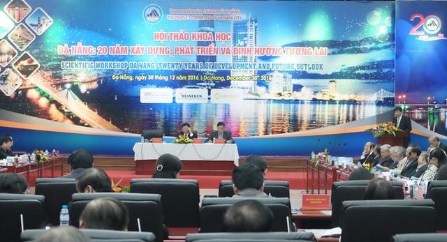 Hội thảo Đà Nẵng - 20 năm xây dựng, phát triển và định hướng tương lai vừa diễn ra chiều 30/12
