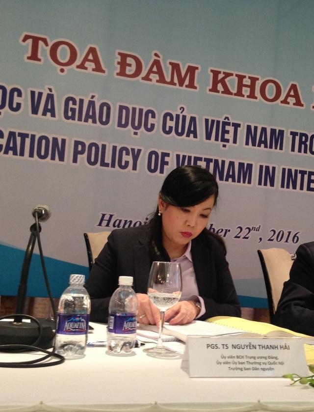 PGS.TS Nguyễn Thanh Hải cho rằng, vấn đề cốt lõi cần cải thiện là việc triển khai luật giáo dục đại học vào thực tiễn.
