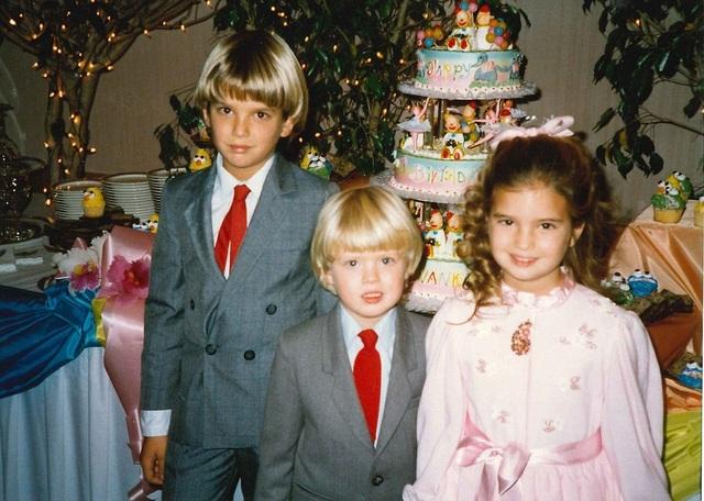 (Từ trái sang phải) Donald Jr., Eric và Ivanka.
