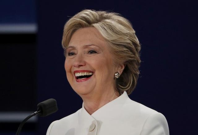 Ứng cử viên Dân chủ Hillary Clinton (Ảnh: Reuters)