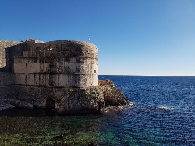 Một góc nhìn ra biển ở Dubrovnik