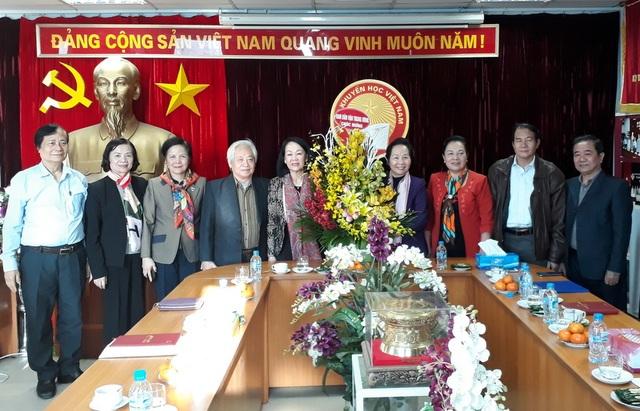 Ủy viên Bộ Chính trị Trương Thị Mai đến thăm và làm việc với TW Hội Khuyến học Việt Nam - 2