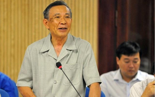 Nguyên Phó chủ nhiệm thường trực UB Kiểm tra TƯ Vũ Quốc Hùng