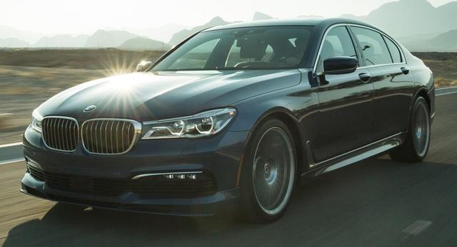 Cận cảnh tuyệt phẩm BMW Alpina B7 - 1