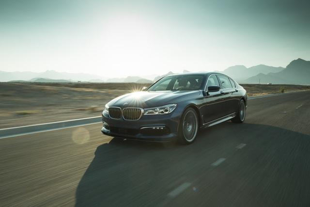 Cận cảnh tuyệt phẩm BMW Alpina B7 - 5