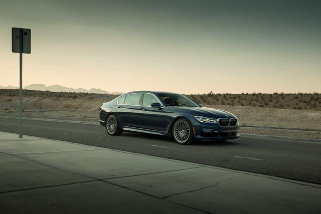 Cận cảnh tuyệt phẩm BMW Alpina B7 - 2