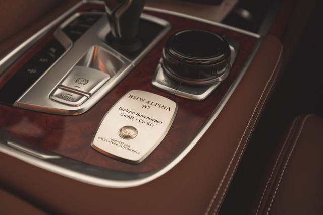 Cận cảnh tuyệt phẩm BMW Alpina B7 - 13