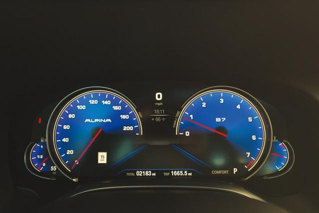 Cận cảnh tuyệt phẩm BMW Alpina B7 - 10