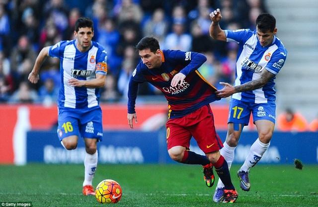 Messi đang có được phong độ cao thời gian gần đây