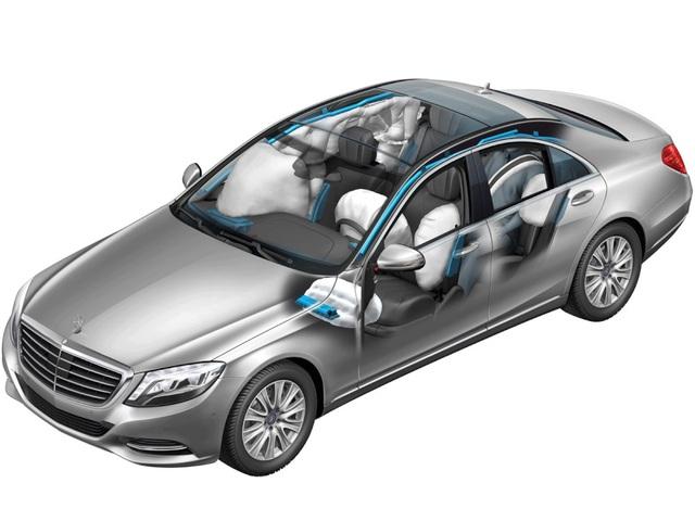 S-Class luôn được xem là một trong những dòng xe an toàn nhất thế giới