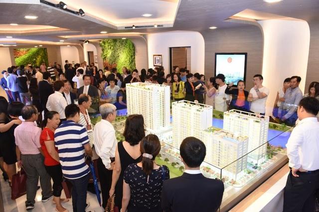 Sự kiện ra mắt dự án Phú Mỹ Hưng Midtown diễn ra vào ngày 9/12 vừa qua đã thu hút hơn 500 khách hàng đến tham dự.