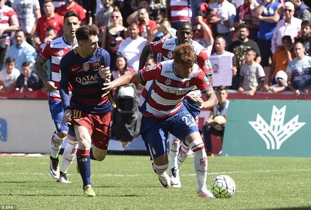 Sự trở lại của Messi khiến lối chơi Barcelona trở nên khởi sắc hơn