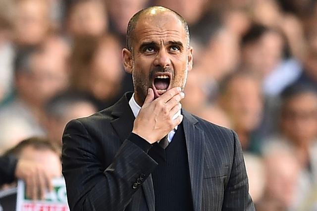 Sự thất vọng của Guardiola khi phải nhận thất bại đầu tiên