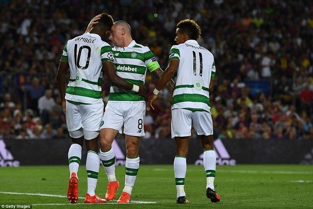 Celtic quyết tâm làm nên bất ngờ trước Man City trên sân nhà