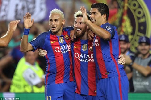 Messi chói sáng với cú hattrick vào lưới Celtic