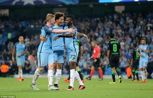 Man City đang phô diễn phong độ xuất sắc mùa giải này