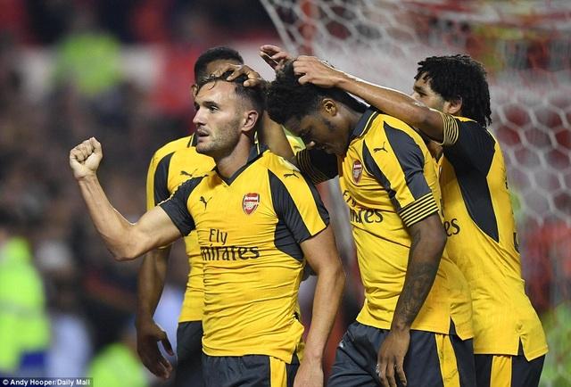 Arsenal đang có phong độ tốt trong thời gian gần đây