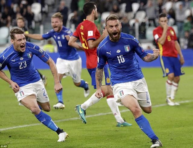 Italia hòa 1-1 Tây Ban Nha tại Turin cách đây 3 ngày