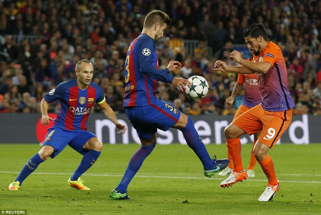 Man City quyết tâm đánh bại Barcelona tại Etihad đêm nay
