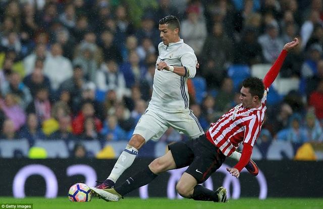 Real Madrid đã gặp nhiều khó khăn trước Bilbao