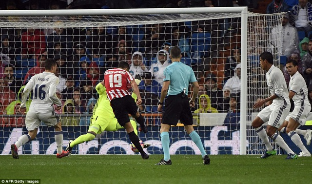 Sabin lập công mang về bàn gỡ hòa cho Bilbao
