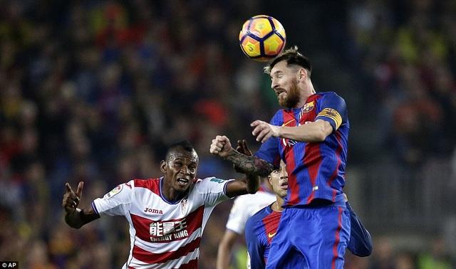 Lionel Messi đã chơi không thực sự tốt ở trận đấu này