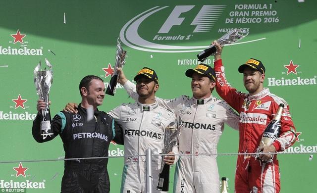 Trong khi vị trí thứ hai chung cuộc của Nico Rosberg là rất xứng đáng.