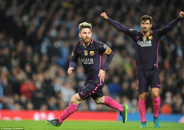 Lionel Messi tỏa sáng với bàn thắng mở tỷ số ở phút 21