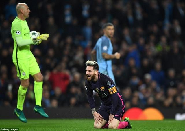 Nỗi buồn bại trận của Messi