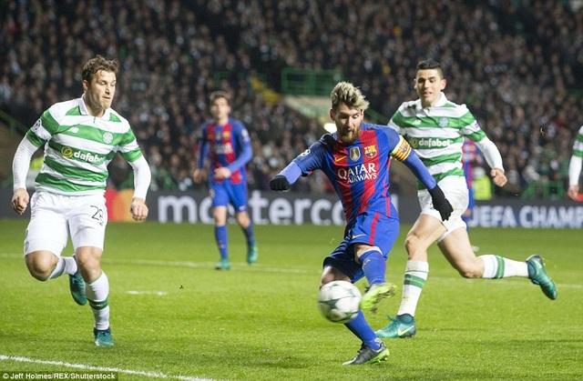 Messi mở tỷ số trận đấu ở phút 24