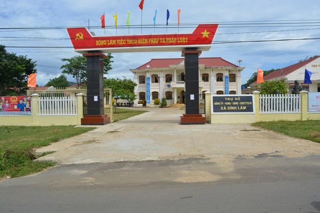 Trụ sở xã Bình Lâm