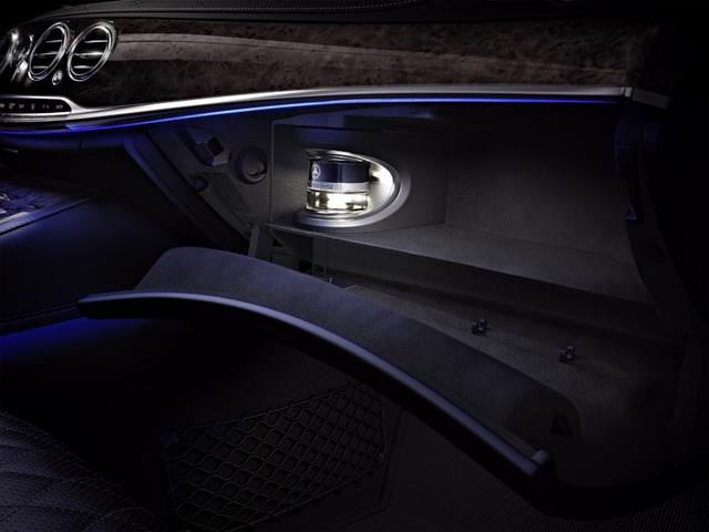 Hệ thống AIR-BALANCE với bộ lọc không khí cao cấp, chức năng ion hóa oxy và tạo hương thơm