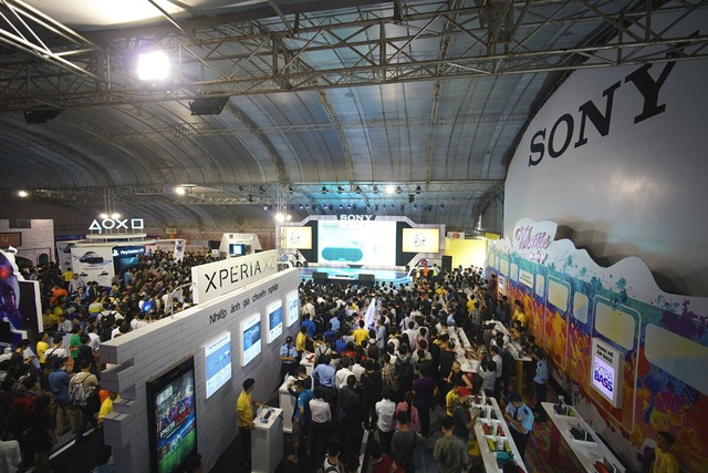 Nhiều công nghệ mới hội tụ trong Sony Show 2016 Hà Nội - 1