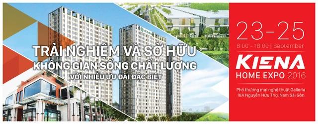 Cơ hội trải nghiệm và sở hữu không gian sống chất lượng tại Kiến Á Home Expo 2016 - 1