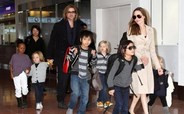 Angelina Jolie ly dị Brad Pitt - 4