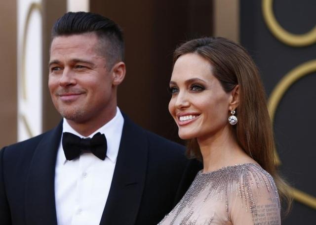Angelina Jolie ly dị Brad Pitt - 1