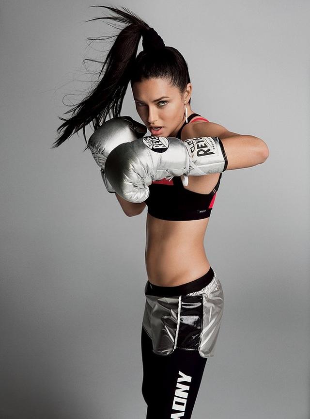 Boxing và các bài tập cơ bụng được Lima rất yêu thích