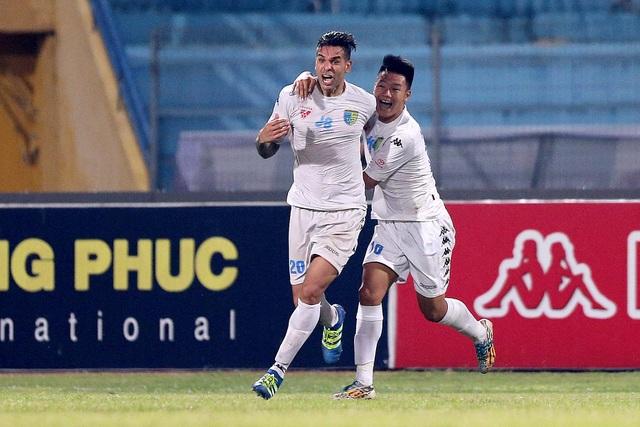 Hà Nội T&T vô địch V-League 2016 đầy kịch tính - Ảnh: Gia Hưng