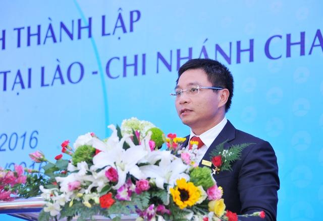 Ông Nguyễn Văn Thắng - Chủ tịch HĐQT VietinBank phát biểu tại Lễ khai trương