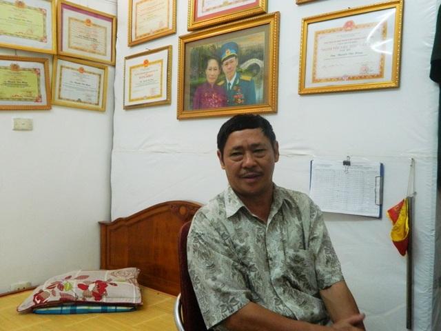 Ông Nguyễn Văn Hùng, Tổ trưởng Tổ tuần tra phường Khương Mai.