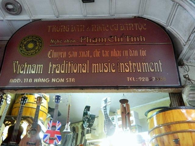 Cửa hàng nhà nghệ nhân Phạm Chí Tịnh.