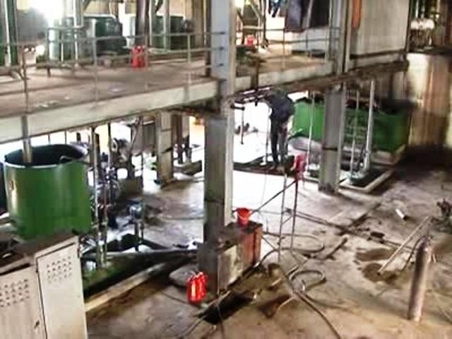 Phân xưởng đường nơi xảy ra vụ nổ mắt kính
