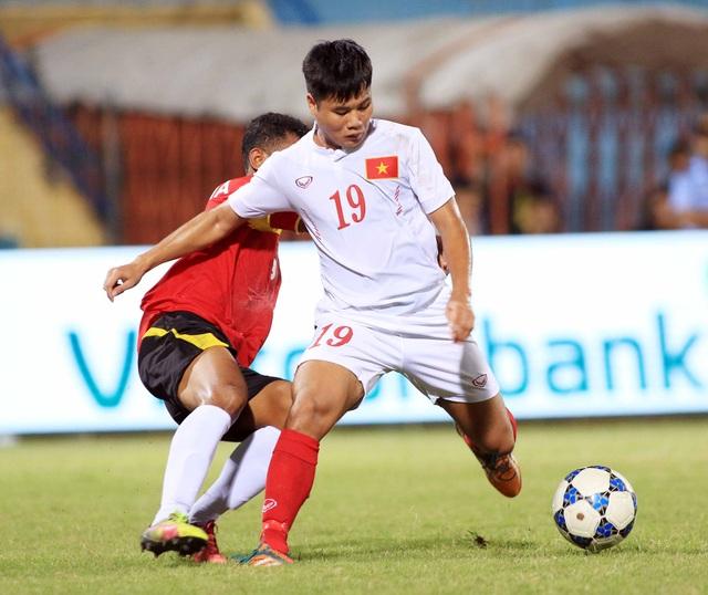 U19 Việt Nam cần cải thiện nhiều hơn khả năng ghi bàn - Ảnh: Gia Hưng