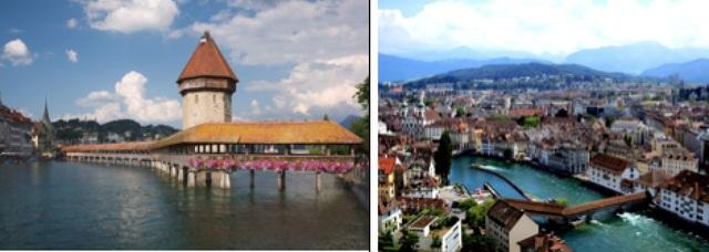 Lucerne được coi là điểm đến du lịch đầu tiên và nên đến nhất tại Thụy Sỹ. Năm 2010, thành phố được bình chọn là địa điểm du lịch nổi tiếng thứ 5 trên thế giới bởi TripAdvisor.